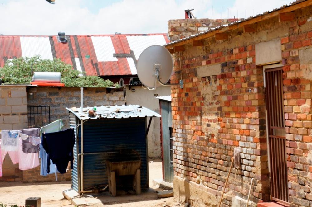 Community toilet - Alexandra Township - Johannesburg, South Africa