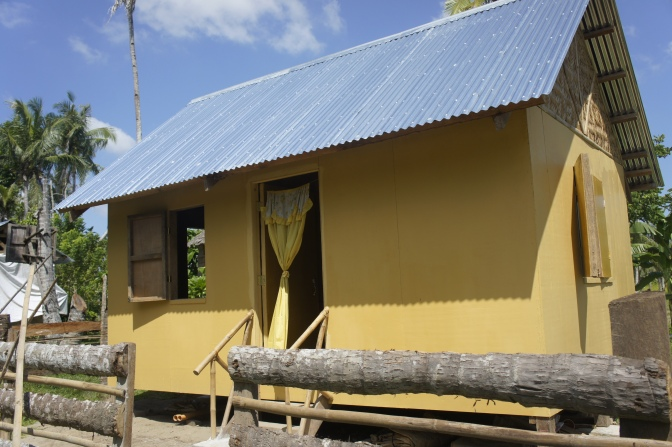 New homes recreate shattered lives in the Philippines