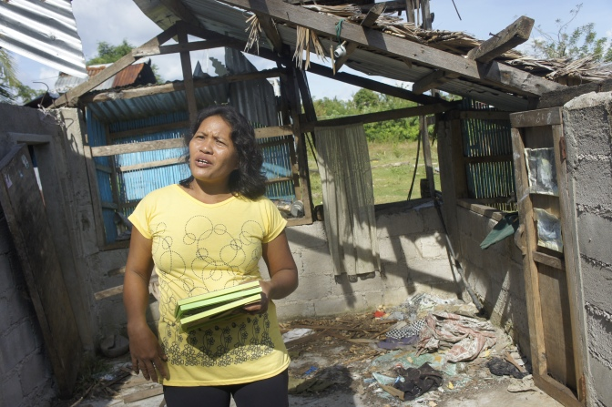 How Women Are Rebuilding After Typhoon Haiyan: Elsa Morales