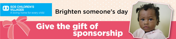 For the holidays - Gift of Sponsorship banner