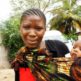 Mother in Tanzania