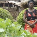 Organic farmer in Zambia