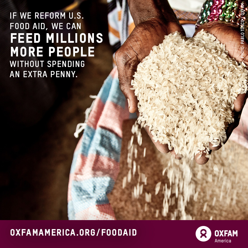Oxfam America - food aid reform share graphic - B