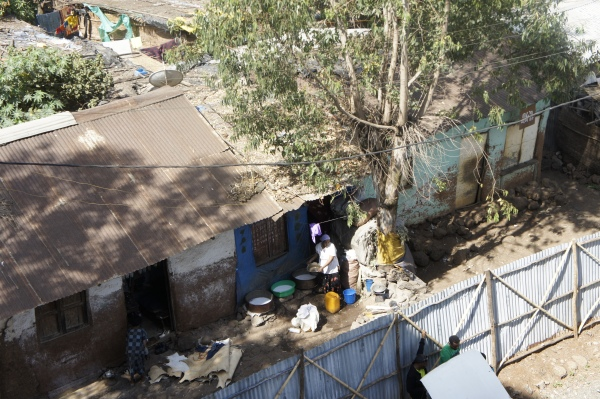 Slum area - Addis Ababa