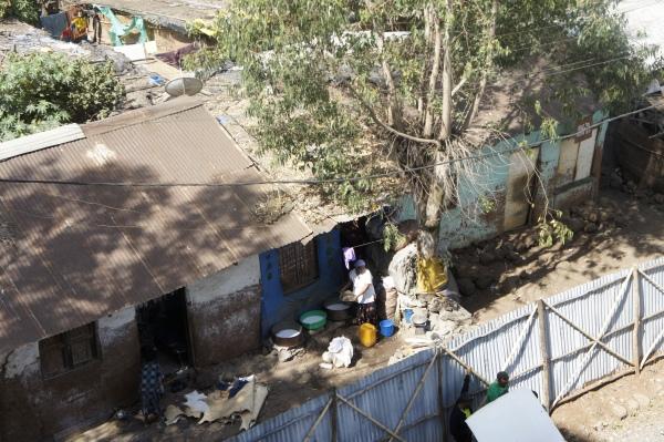 Slum area - Addis Ababa