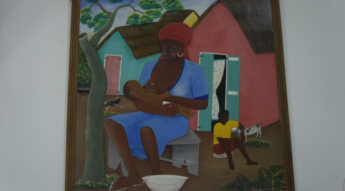 Newborn and Child Health Education Through Haitian Art