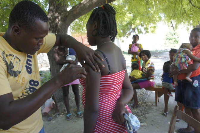 [Photos] Haiti Works Toward Eliminating Maternal Tetanus