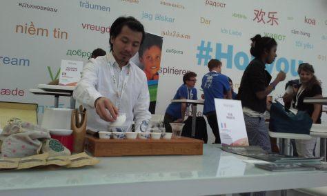 CUI Bao Zhang (NGO stand Paris VIA)