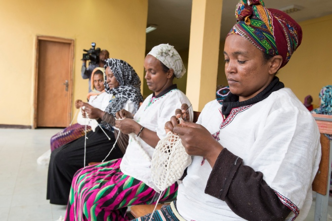 Featured Photos: Ethiopian Women Gain Access to Trade Markets