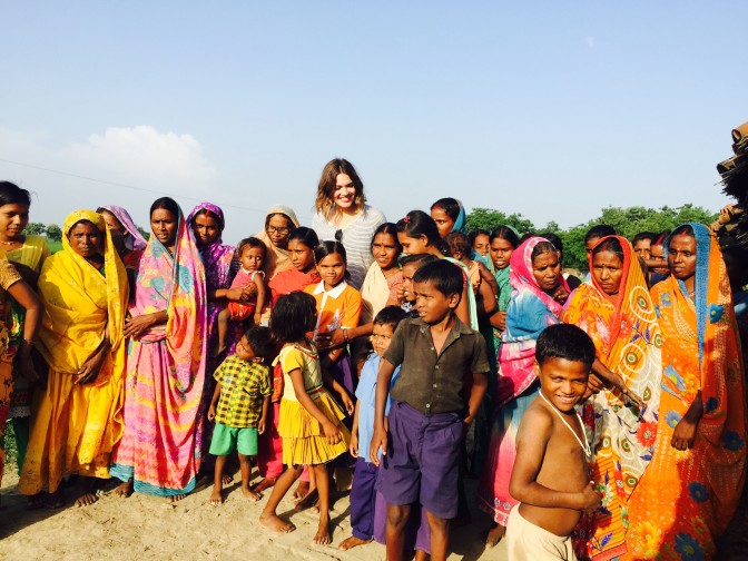 An Unexpected Question About Toilets: Day 1 in India With Mandy Moore
