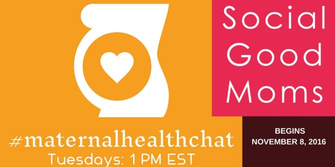 Announcing #MaternalHealthChat Starting November 8 With Jacaranda Health
