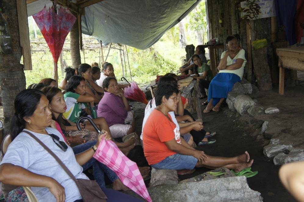 Women farmer' World Vision co-op: Philippines