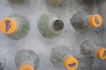 Mud in the PET bottles