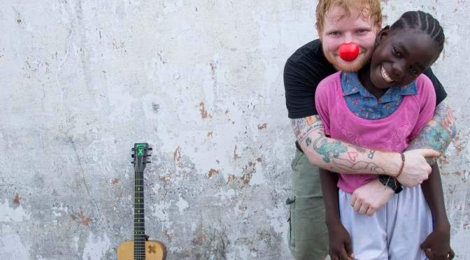 WATCH: Ed Sheeran Visits Liberia for Red Nose Day